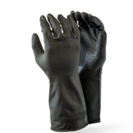 Black Builders Gloves