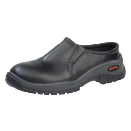 Clog Slip on Shoe with Steel Toe Cap