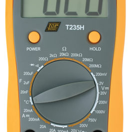 T235H – Toptronic Digital Multimeter