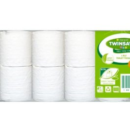 Twinsaver 1 ply Toilet Paper