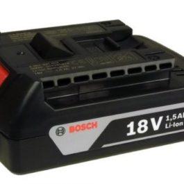Bosch 18V 1.5Ah Li-Ion Cordless Battery