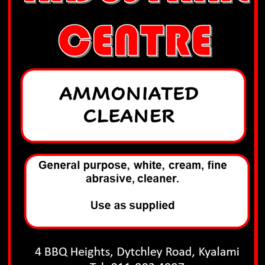 Ammoniated Cleaner