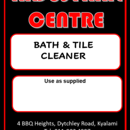 Bath & Tile Cleaner
