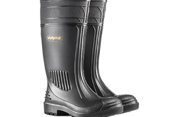 Gripper Mens Gumboot with Steel Toe Cap