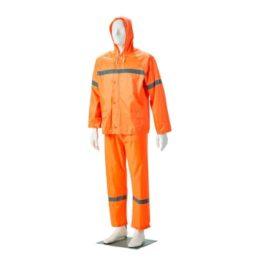 Rubberised Hi-Viz Rain Suit